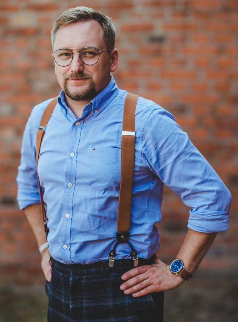 Jan Daniluk, autor Spacerownika