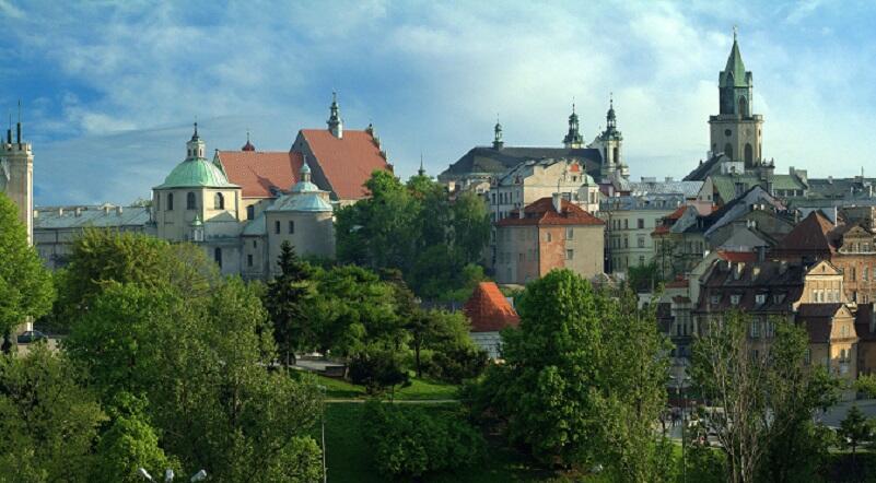 Panorama Lublina