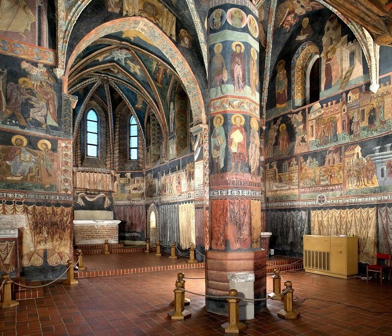 Wnętrze Kaplicy Trójcy Świętej w Lublinie robi ogromne wrażenie