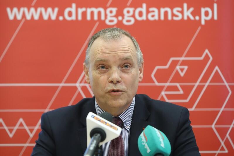 Włodzimierz Bartosiewicz, ustępujący, wieloletni dyrektor Dyrekcji Rozbudowy Miasta Gdańska, przechodzi na emeryturę