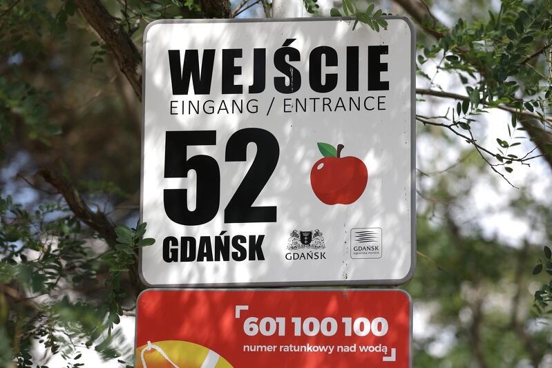 Dla jednych wejście nr 52, dla innych - wejście z jabłuszkiem