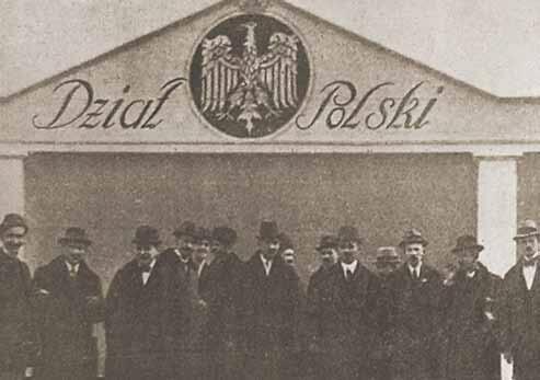 """Wystawcy polscy przed """"działem polskim"""""""