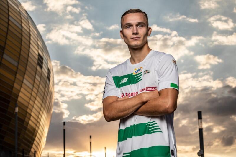 Łukasz Zjawiński, nowy nabytek Lechii - to będzie już drugi sezon tego młodego zawodnika w Ekstraklasie, ale pierwszy w gdańskich barwach