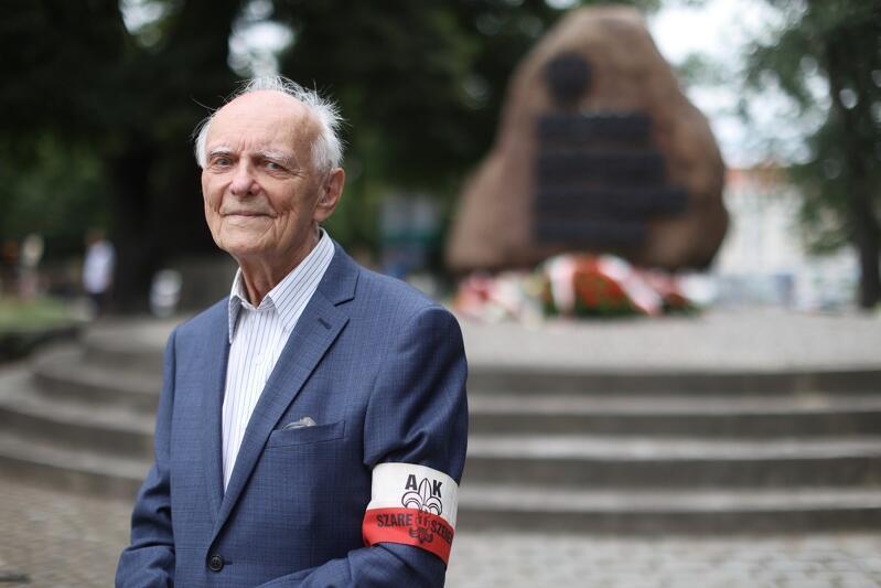 Prof. Jerzy Grzywacz, 1 sierpnia 2021 w Gdańsku