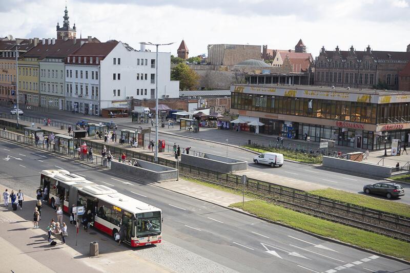 Na ulicy Wały Jagiellońskie w stronę Pruszcza Gdańskiego wyłączony z ruchu zostanie prawy skrajny pas jezdni na około 100-metrowym odcinku od węzła Hucisko