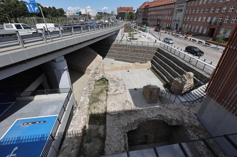 Zachowane elementy dawnego bastionu można oglądać od strony ul. Okopowej, w sąsiedztwie gmachu Pomorskiego Urzędu Marszałkowskiego