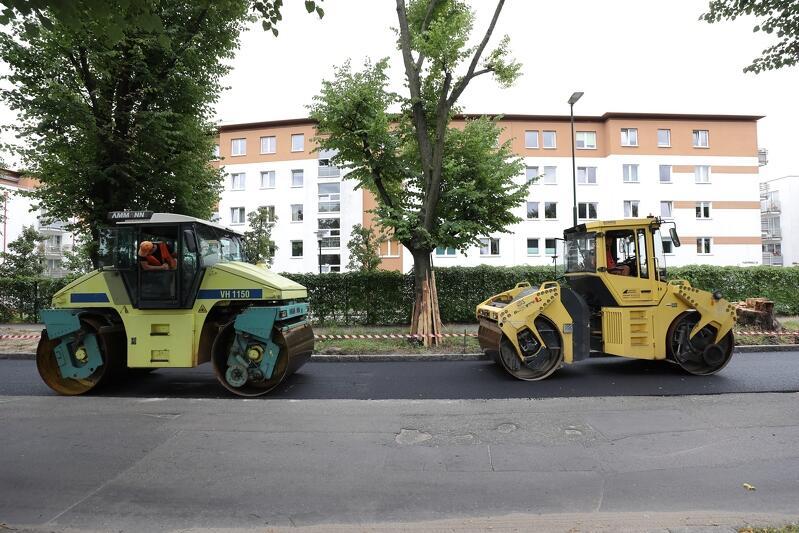 Remont na ul. Piastowskiej rozpoczął się w maju, zakończenie planowane jest w październiku 2021 r.