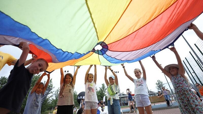 Wakacyjne atrakcje, m.in. dla dzieci, przygotował Mobilny Dom Kultury GAK na Kokoszkach