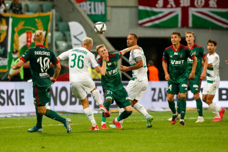 Tomasz Makowski uratował Lechii remis już w doliczonym czasie gry
