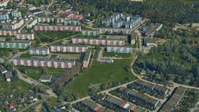 Rejon ulic Krasickiego i Sybiraków