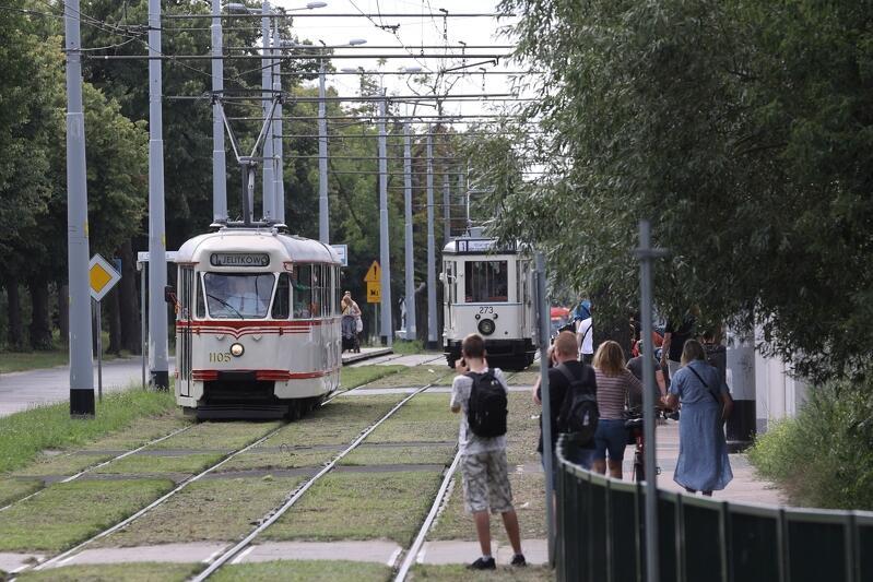 W sobotę, 14 sierpnia, pięć zabytkowych tramwajów regularnie, co 10 minut, kursowało na trasie pętla w Jelitkowie - pętla w Oliwie