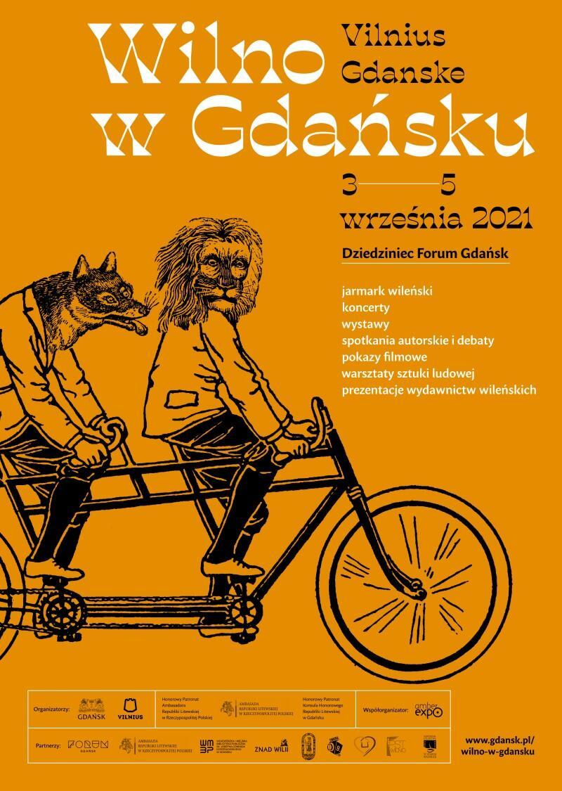 wilno w gdansku 2021 plakat