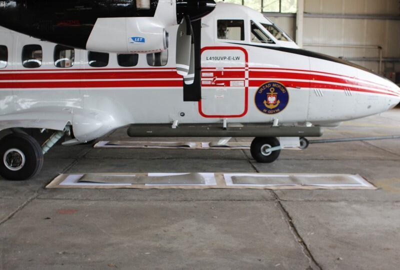 Tak wygląda prasawarasa  w wersji samolotowej