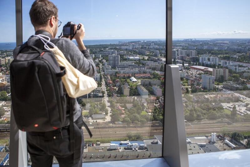 Jedną z atrakcji będzie miejsce, gdzie odbędzie się konkurs - 32. piętro gdańskiego drapacza chmur Olivia Business Center, skąd można podziwiać kapitalny widok Trójmiasta i okolic