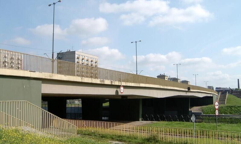 widok na most Dolnomiejski