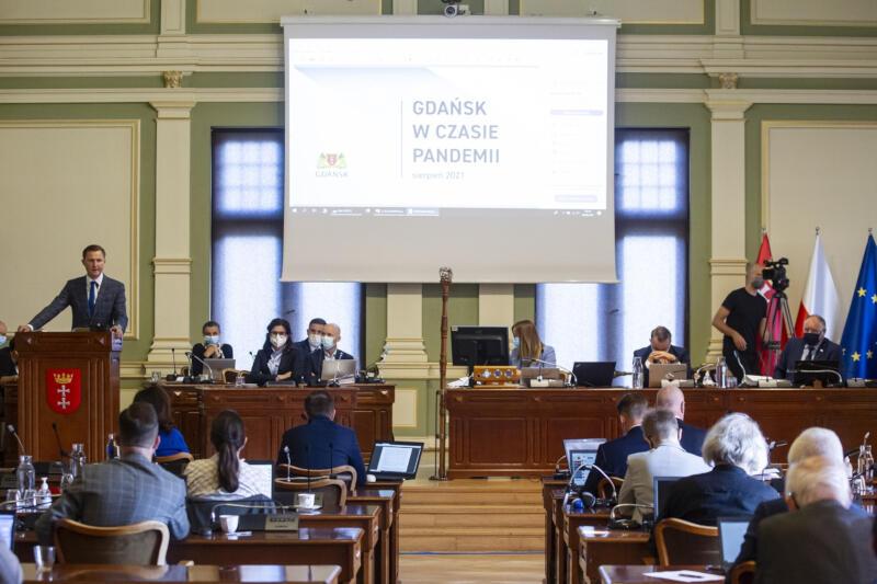Radni Miasta Gdańska w czwartek, 26 sierpnia, podjęli uchwałę o wsparciu dla przedsiębiorców