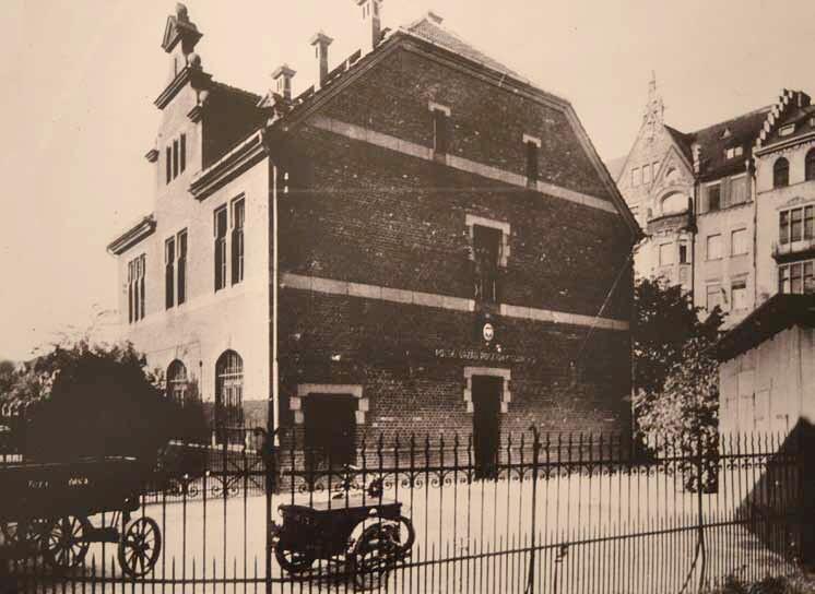 Urząd Pocztowy Gdańsk 2 na Dworcu Głównym, gdzie pracował i został aresztowany Alojzy Swiniarski