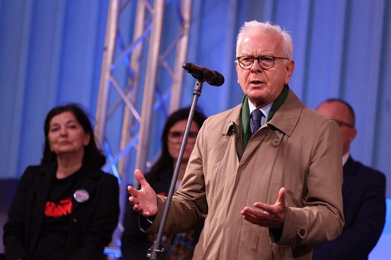 Hans-Gert Pöttering, były przewodniczący Parlamentu Europejskiego