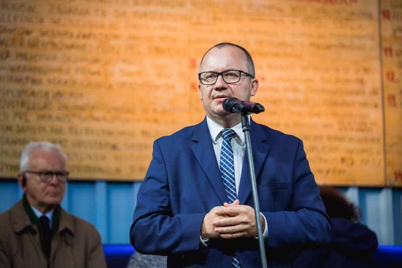 Adam Bodnar podczas wiecu dla Europy w Gdańsku