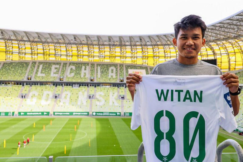 Witan Sulaeman ma 19 lat, w Lechii będzie miał koszulkę z nr 80