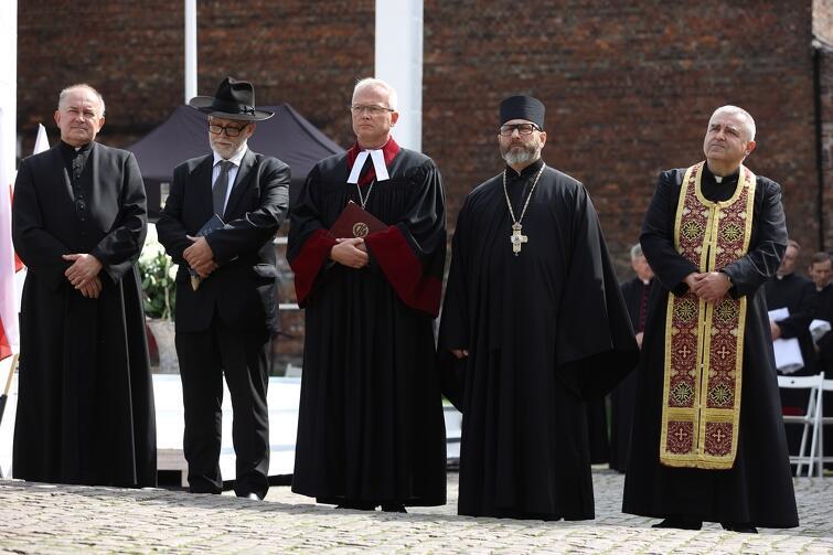 Podczas środowej uroczystości odmówiono modlitwę międzywyznaniową
