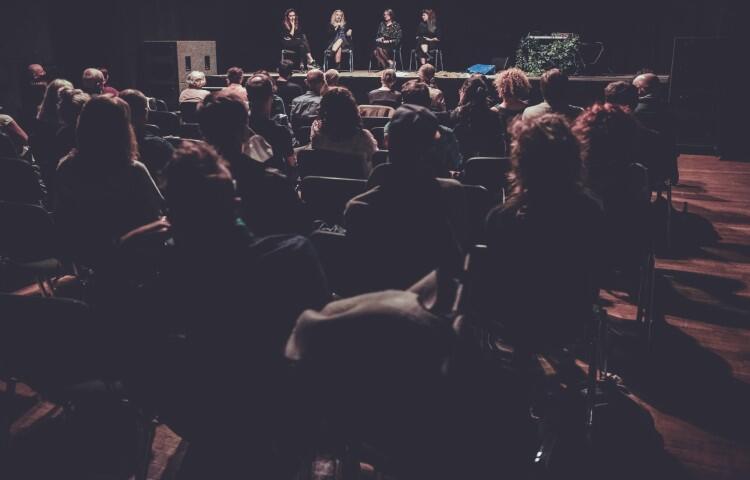 Publiczność na Sali Suwnicowej jak zwykle dopisała