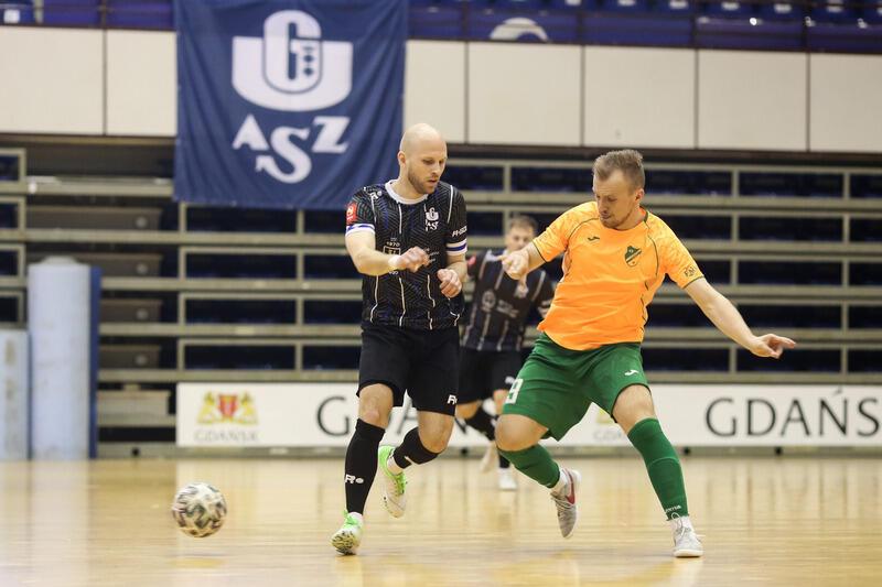 Piłkarze halowi AZS UG Gdańsk po dwóch latach przerwy wracają na najwyższy szczebel krajowych rozgrywek