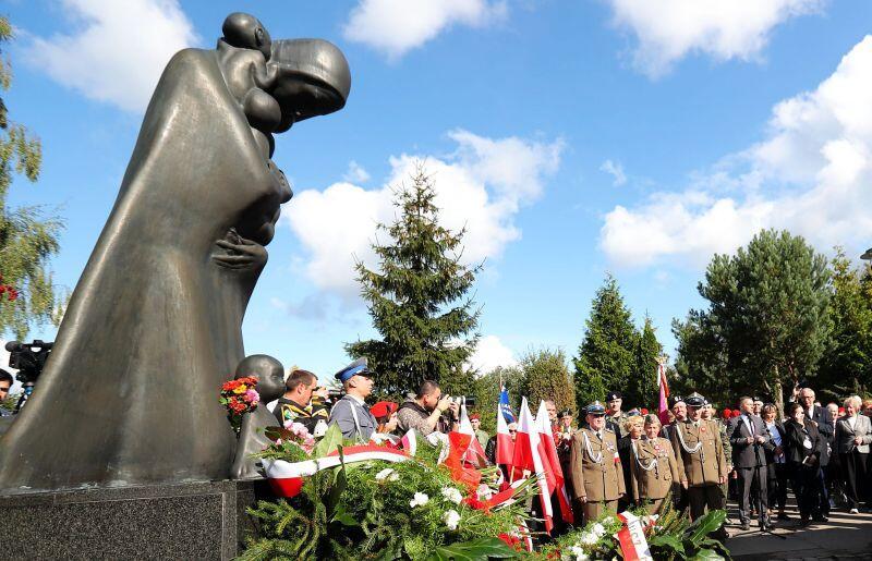 Cmentarz Łostowicki wGdańsku. Pomnik Ofiarom Golgoty Wschodu
