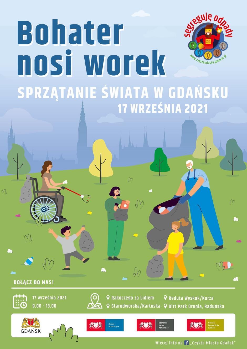Plakat Sprzątanie Świata