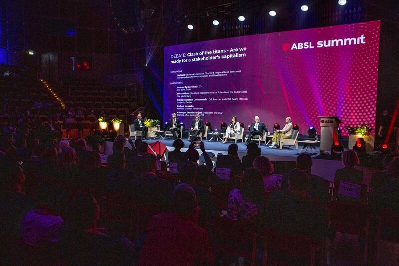 Konferencja ABSL Summit 2021 odbywa się w Filharmonii Bałtyckiej w dniach 14 - 15 września 2021