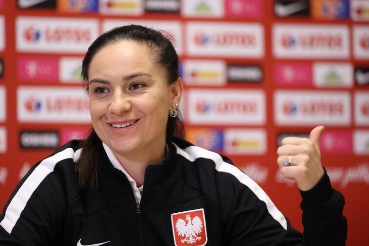 Nina Patalon, selekcjoner reprezentacji Polski w piłce nożnej kobiet: - Miasto Gdańsk zaoferowało fantastyczne warunki do gry.