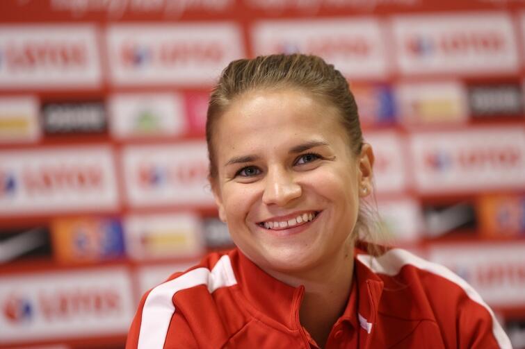 Dominika Grabowska, zawodniczka reprezentacji: - Atmosfera w drużynie jest bardzo dobra. Mecz z Belgią będzie ciężki. Ale to dobrze, bo lubimy wyzwania