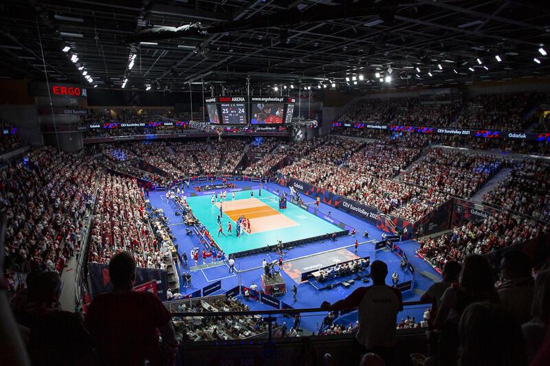 Ergo Arena zapełniona kibicami