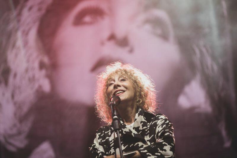 Alicja Majewska będzie jedną z gwiazd V Charytatywnego Koncertu Gwiazd Przemek Dzieciom. Nz. artystka podczas występu w Teatrze Leśnym w tym roku