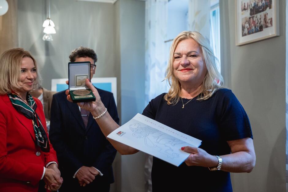 Od lewej: Emilia Kosińska, Zastępca Skarbnika Gdańska oraz Jolanta Lipinska, Kierownik DDP