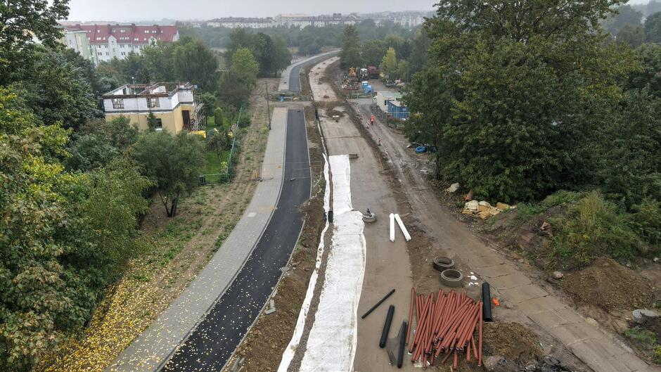 Linia tramwajowa Nowa Warszawska 16.09.2021_04