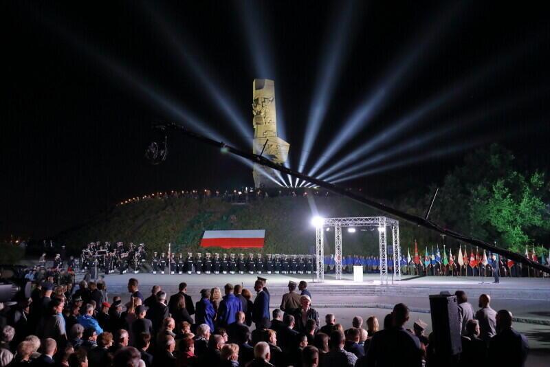 Westerplatte podczas dorocznych obchodów wybuchu II wojny światowej