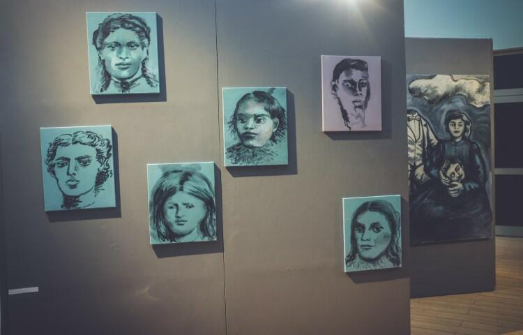 Wystawa Joanny Rusinek
