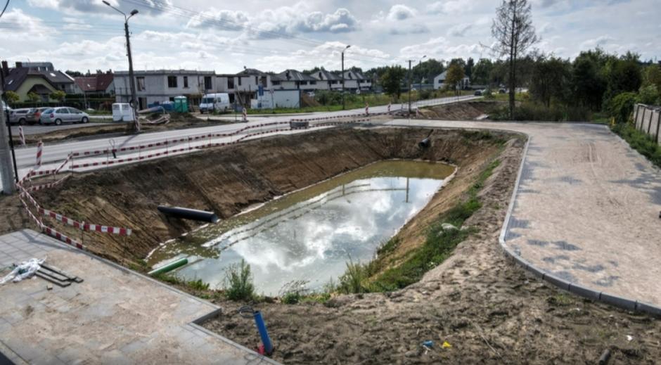 Projekt zagospodarowania terenu kolejowego w Osowej zakłada także stworzenie ogrodu deszczowego z uwzględnieniem istniejącej zieleni