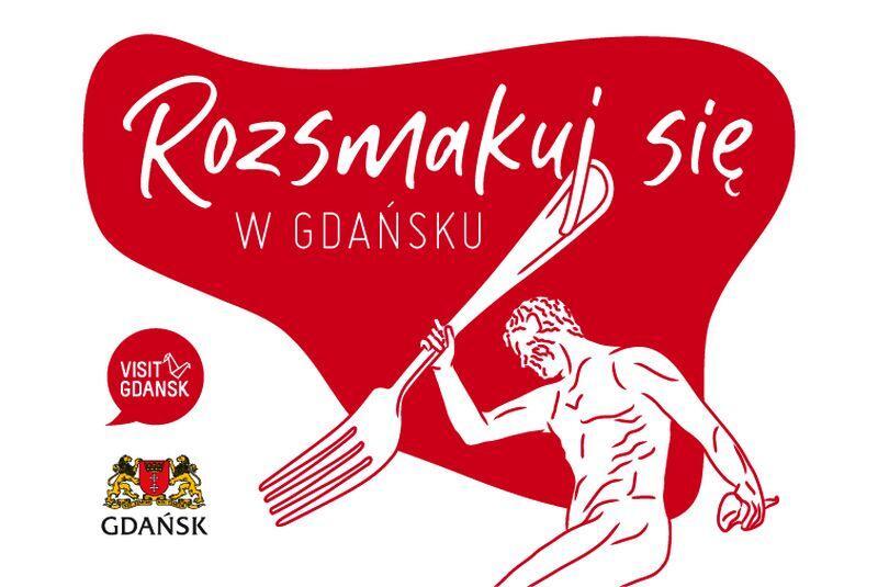 Plakat promujący akcję Rozsmakuj się w Gdańsku