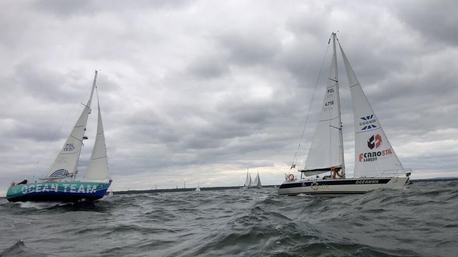 Jacht Oceanna i jacht Ocean Team