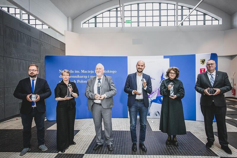 Wręczenie wyróżnień laureatom 10. edycji Nagrody im. Macieja Płażyńskiego 2021 odbyło się w gdyńskim Muzeum Emigracji w sobotę, 18 września