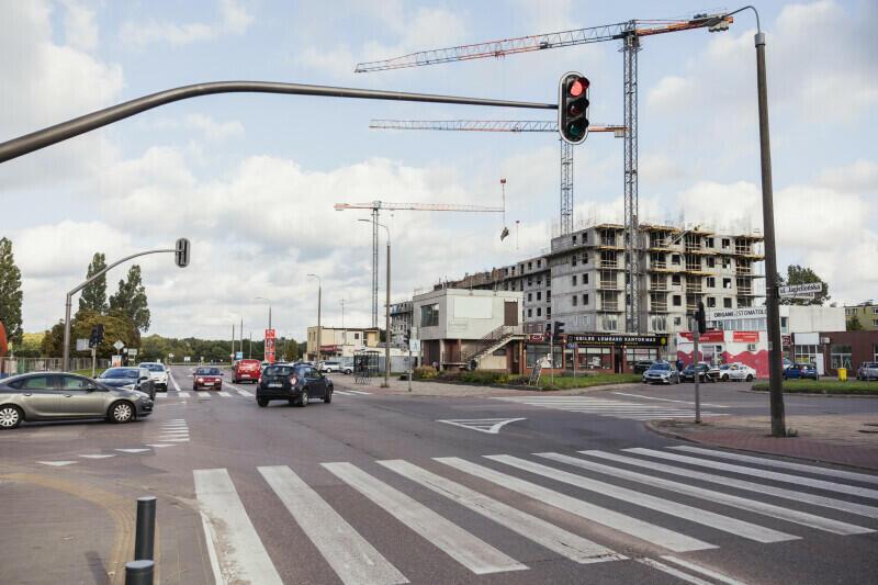 Rondo na skrzyżowaniu ulic Jagiellońskiej i L. Kaczyńskiego powinno powstać do końca 2022 r.