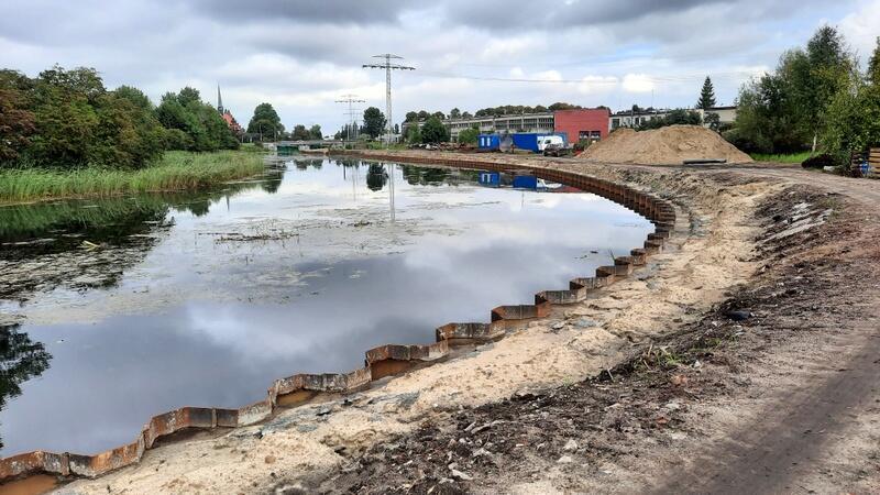 Nabrzeże wzmocnione, czas na budowę konstrukcji nowego gdańskiego wału ochronnego