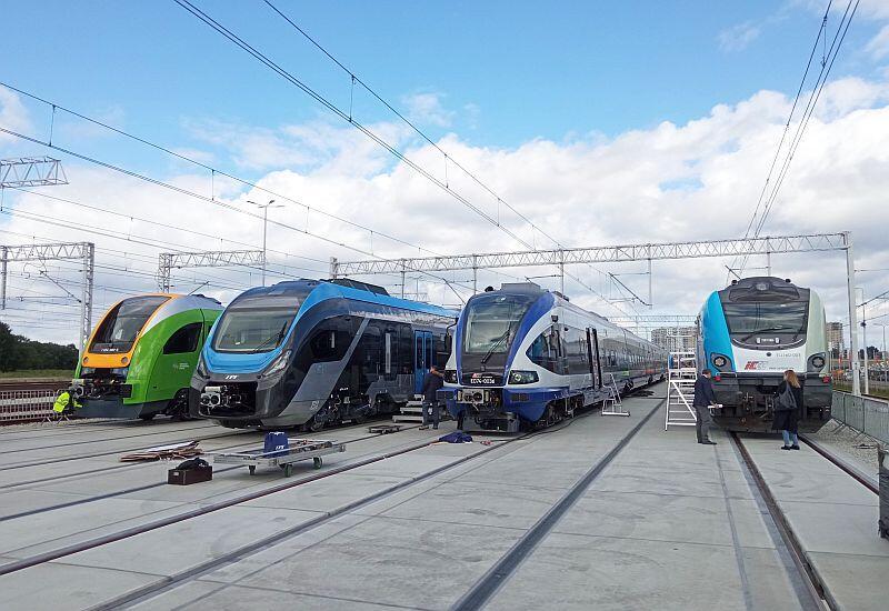 Nowoczesne pociągi prezentowane na tegorocznych targach TRAKO