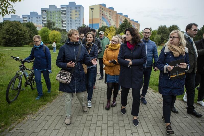 We wtorek, 21 września, odbył się kolejny gospodarski spacer z udziałem prezydent Aleksandry Dulkiewicz, tym razem po Zaspie Rozstajach