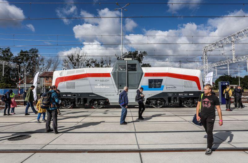 Jeden z hitów tegorocznej edycji TRAKO - lokomotywa wodorowa wyprodukowana przez firmę PESA