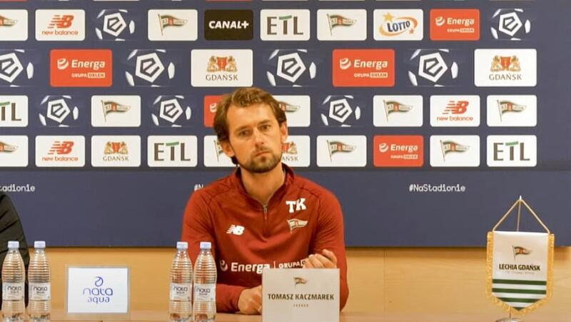 Trener Tomasz Kaczmarek: - Ja i zespół doceniamy, że kibice są na meczach wyjazdowych z nami i ostatnia rzecz jaka powinna się zdarzyć, to taka tragedia