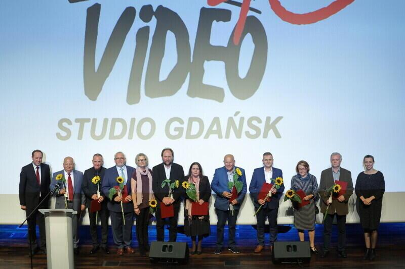 Jubileusz 40-lecia Video Studio Gdańsk w ECS - laureaci nagród w komplecie