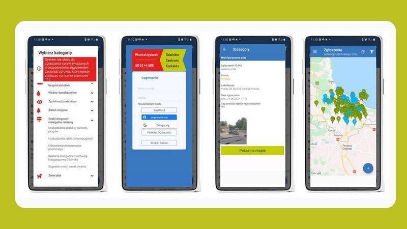 Chcesz zgłosić problem w twojej dzielnicy? Widzisz awarię czy chcesz zgłosić sugestię? Teraz możesz to zrobić za pośrednictwem nowej aplikacji mobilnej – Gdańskie Centrum Kontaktu.
